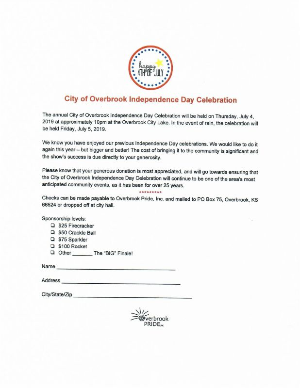City of Overbrook Independence Day Celebration