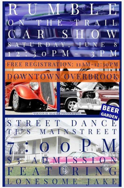 Rumble on the Trail: Car Show and Street Dance